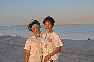 Sportlerinnen aus Uganda