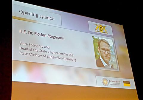 Staatssekretär Stegmann
