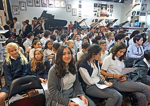Zuhörer im House of Piano