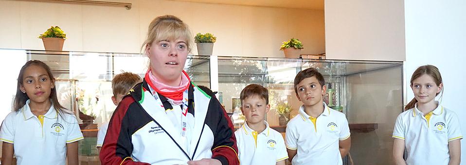 Meet & Greet mit dem Special-Olympics-Deutschland-Team