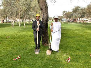 Haitham Mattar und Eng. Ahmed Mohammed Ahmed Al Hammadi