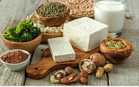 Körner, Milch, Käse