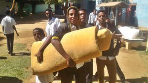 Sudanesische Schüler