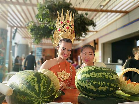 Thai-Atmosphäre