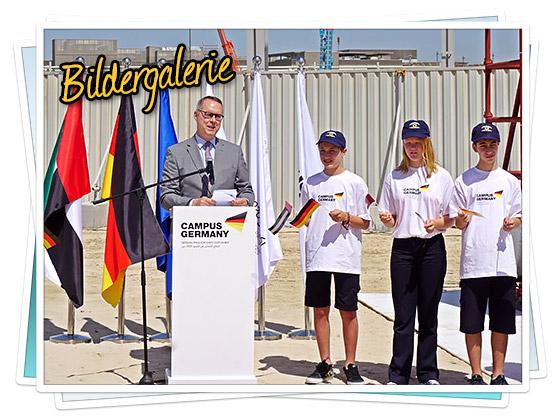 Bildergalerie - Erster symbolischer Spatenstich auf dem Gelände der EXPO 2020