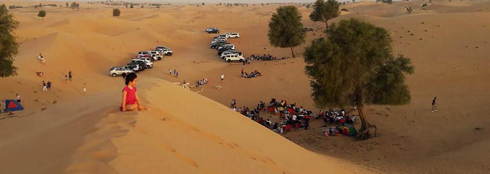Osterfeuer 2019 in der Wüste