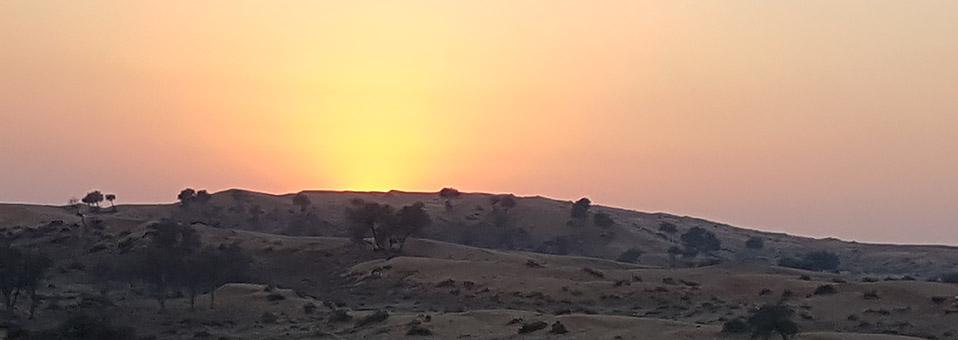 Stimmungsvoller Ramadan im Wüstenresort von Al Wadi