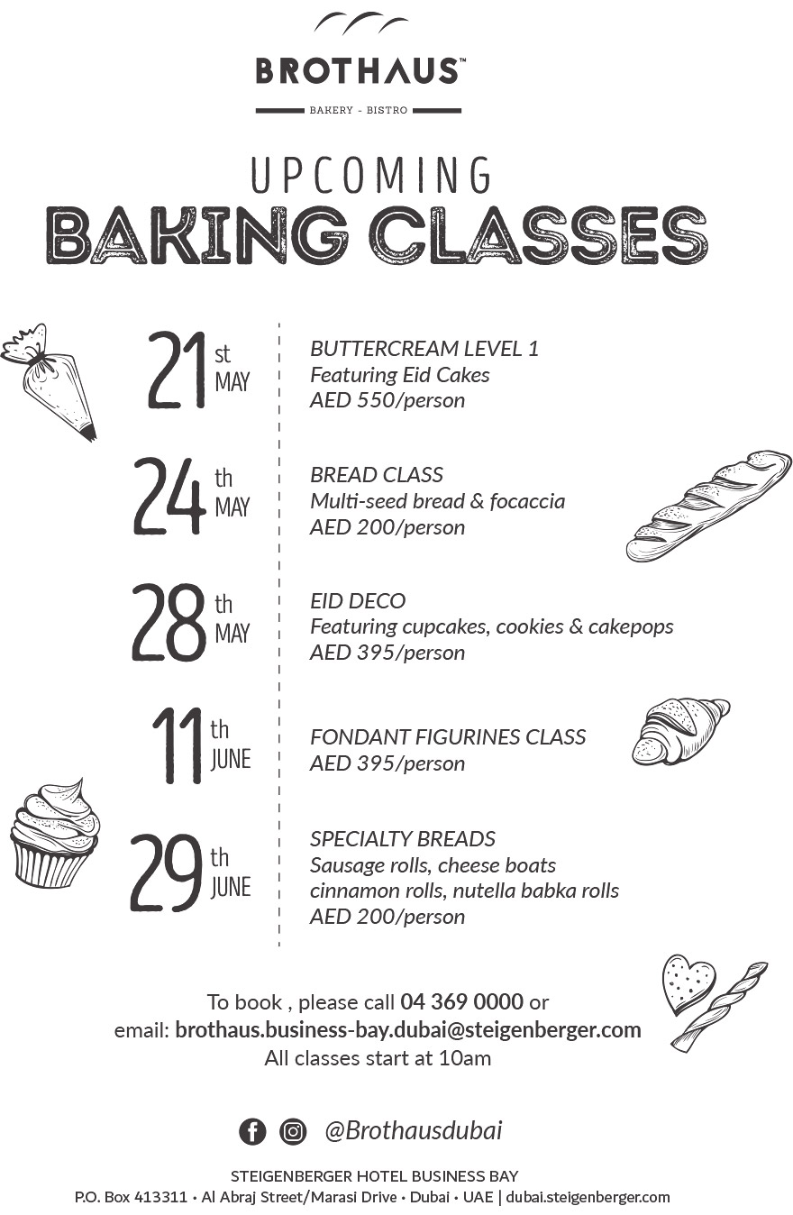 Baking Classes Brothaus
