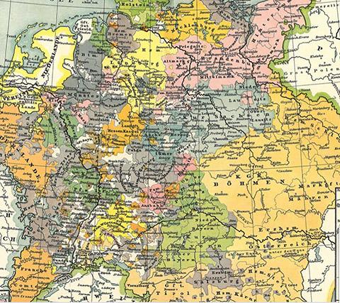 Fürstentümer im Mittelalter