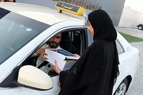 Iftar-Boxen für Taxifahrer