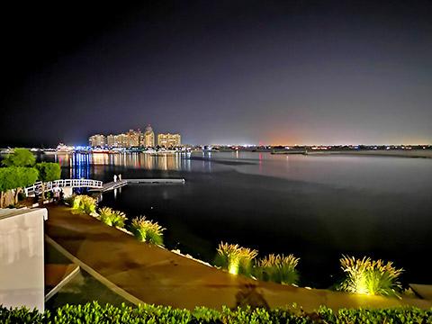 Lagune von Al Hamra
