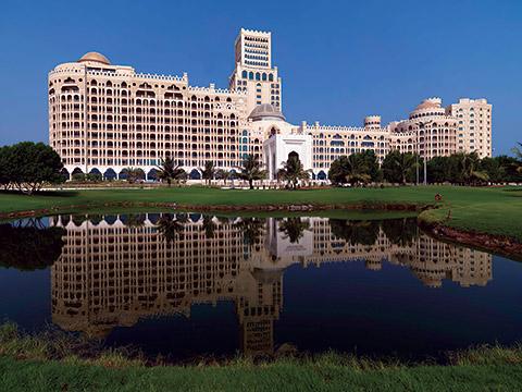 Blick auf das Waldorf Astoria