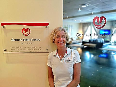Dr. Wild im German Heart Centre