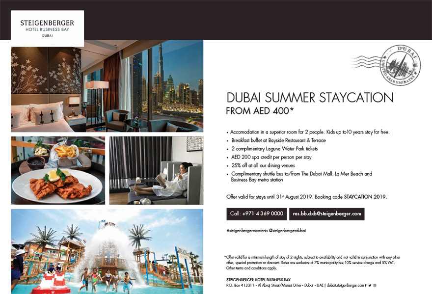 Dubai Summer Staycation