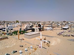 Friedhof in Dubai
