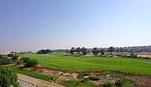 Golfplatz-View