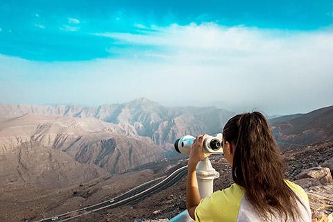Jebel Jais Viewing Deck