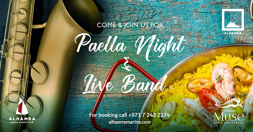 Paella Night & Live Band