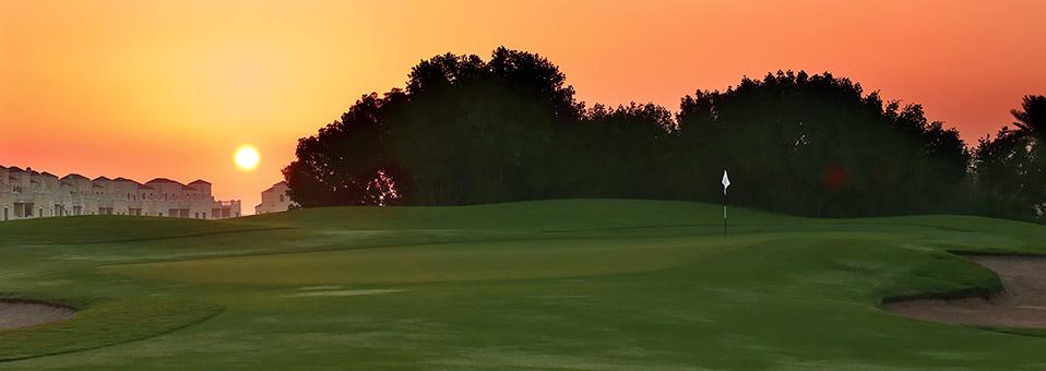Golfen auf dem Al Hamra Golf Course in Ras Al Khaimah