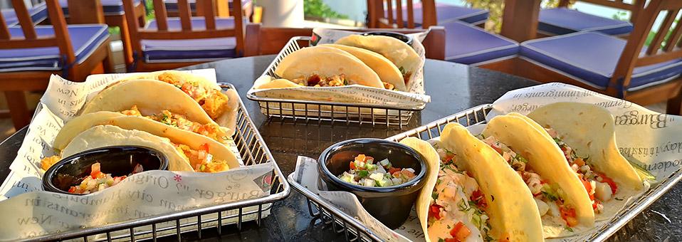 Tacos und Beef Briskets