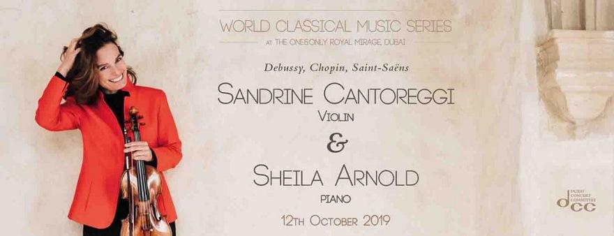 Konzert mit Sandrine Cantoreggi und Sheila Arnold