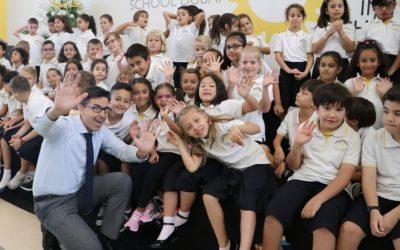 Einschulungsfeier 2019 an der DISD
