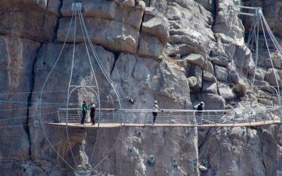 Die Jebel Jais Zipline Tour ist eröffnet
