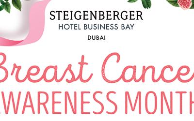 Breast Cancer Awareness Month @ Steigenberger