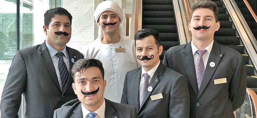 Movember Initiative im Steigenberger
