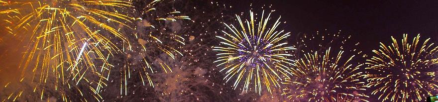 Silvester-Feuerwerks-Gala für 2020