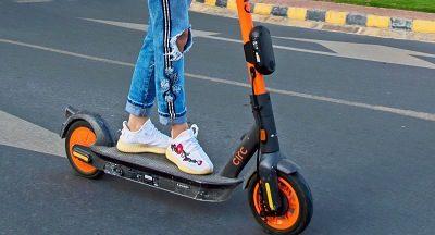 E-Scooter in Al Hamra