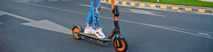 E-Scooter in Al Hamra