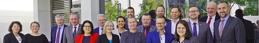 Tourismusausschuss-Mitglieder auf Auslandsbesuch