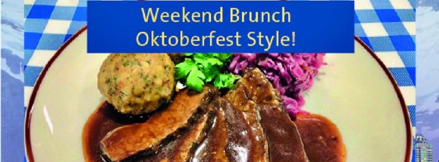 """Weekend-Brunch """"Oktoberfest –Style"""""""