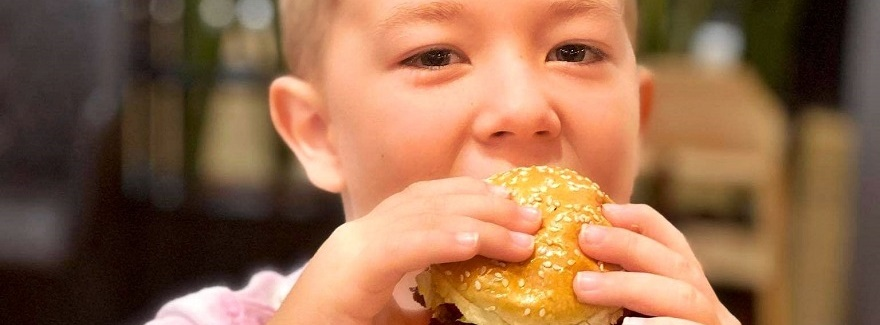 Kids eat for free