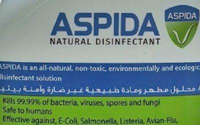 ASPIDA – perfekte natürliche Desinfektion