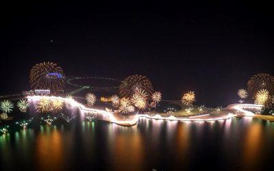 Silvesterfeuerwerk 2020 in Ras Al Khaimah