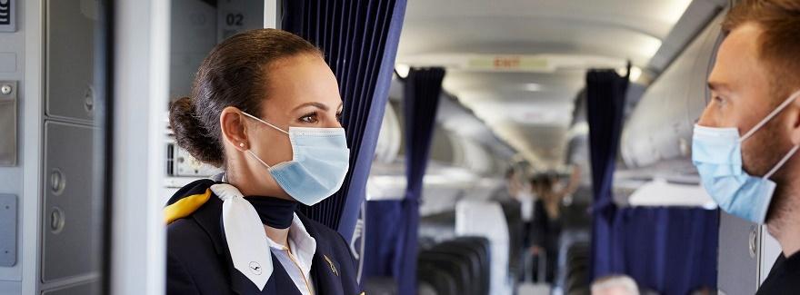 Angepasste Maskenpflicht bei Lufthansa Group Airlines