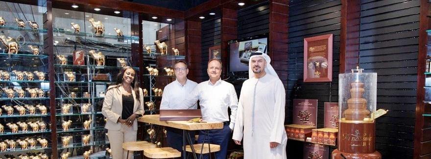 Boutique-Eröffnung von Al Nassma in der Altstadt