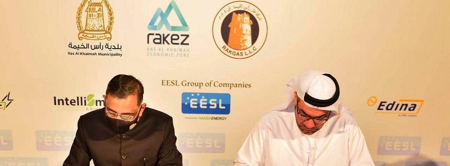 Zusammenarbeit zwischen Ras Al Khaimah und EESL
