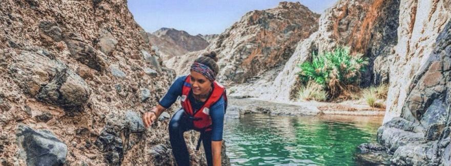Bergwandern in Ras Al Khaimah